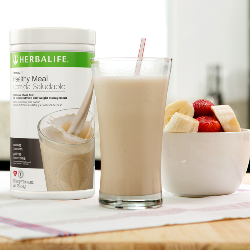 herbalife formula 1 shake the best-selling meal substitute in the world!