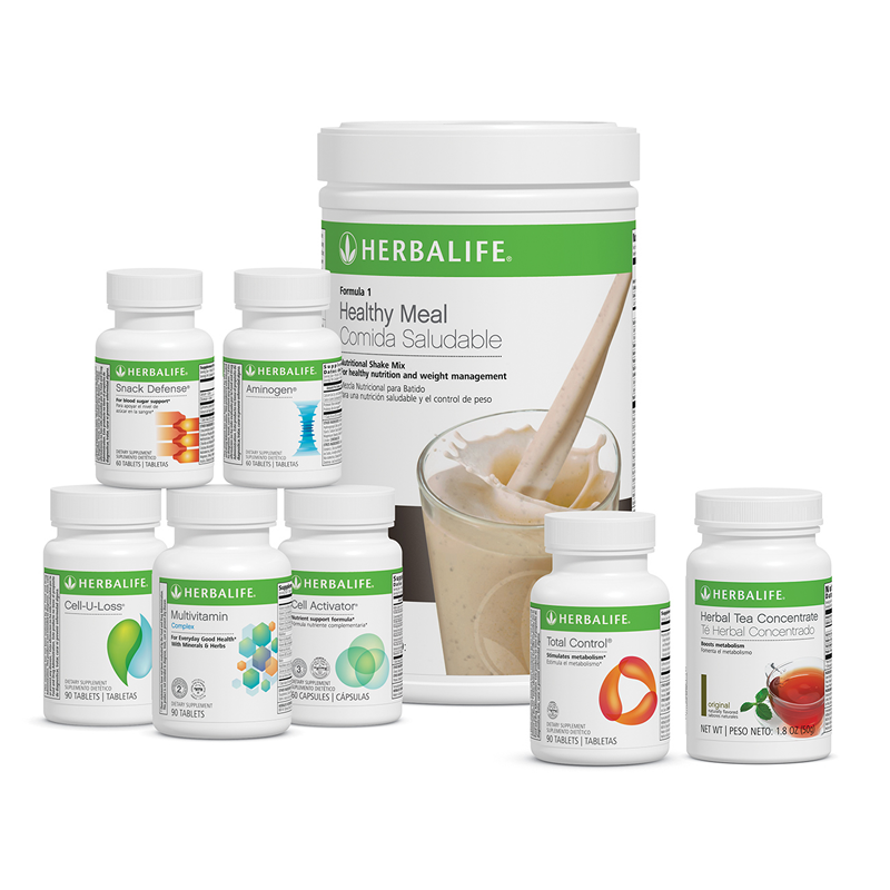 Ultimate Program Herbalife With 3 Core Products And 5 Adv Products