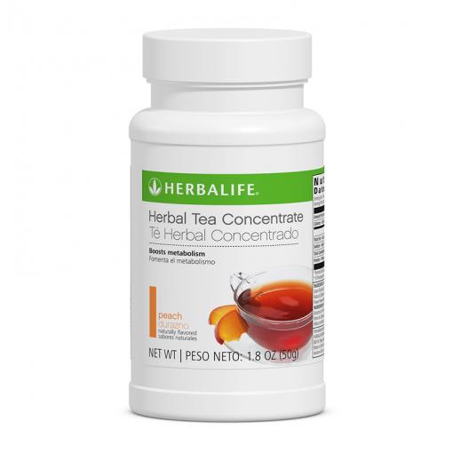 herbal tea peach